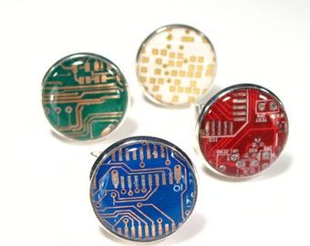 Circuit Board Ring - Birthday Gift - Gift For Her - Jewelry Gift - Jewellery Gift - Techie Gift - Computer Geek Gift -