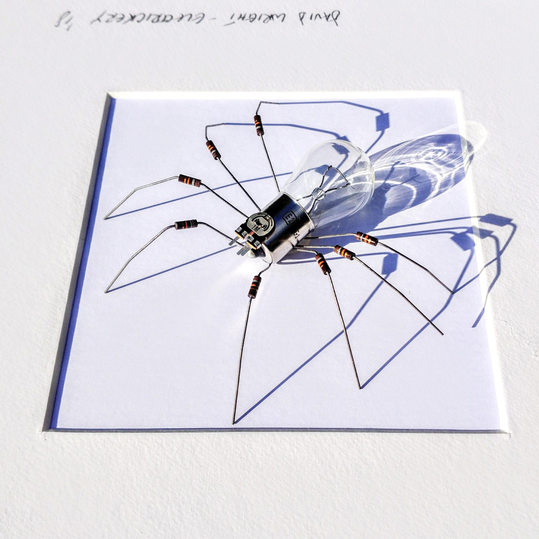 Steampunk Spider Kunst gerahmt Spider Roboter Spinne Faux   Etsy