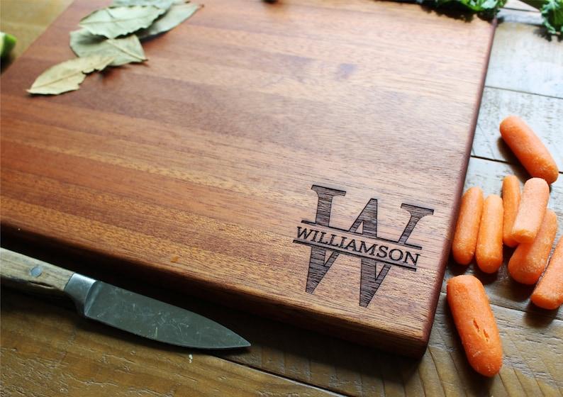 Anniversary Gift Personalized Cutting Board Engraved Cutting Board Wood Cutting Board Gift For Dad Housewarming Gift