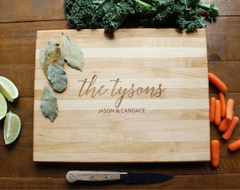 Personalized Cutting Board, Wood Cutting Board, Christmas Gifts, Housewarming Gift, Custom Cutting Board, Corporate Gift, Engagement Gift