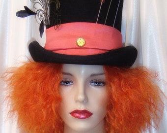 Cruella Deville Wig and Hat Set Cruella Deville Fascinator