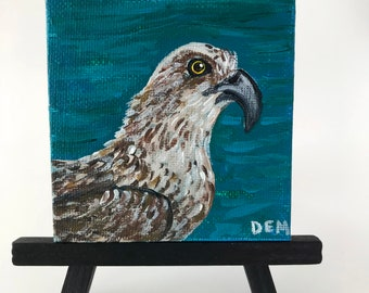 Painting of an Osprey