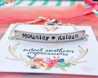 Personalized Name Bracelet -