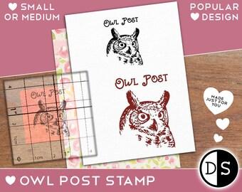 Owl Post Stamp Envelope Packaging Postmark Various Sizes Minis163