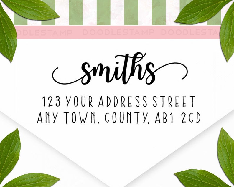 return address stamp address rubber stamp farm address stamp - cas126 address stamp modern address stamp custom address stamp