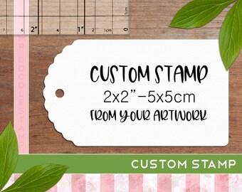 Custom Rubber Stamp, Business Logo Stamp, Personalised Business Stamp, Logo Stamper, Custom Stamp