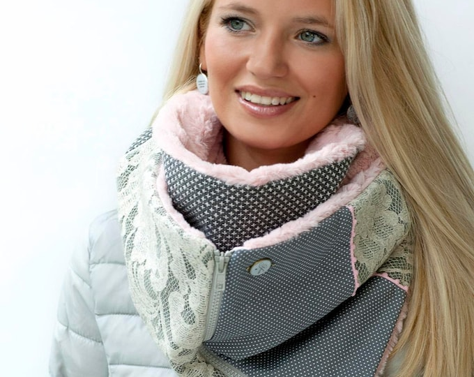 ZIP Youpla scarf: Betty Lou ZIP5 / Valentine's day