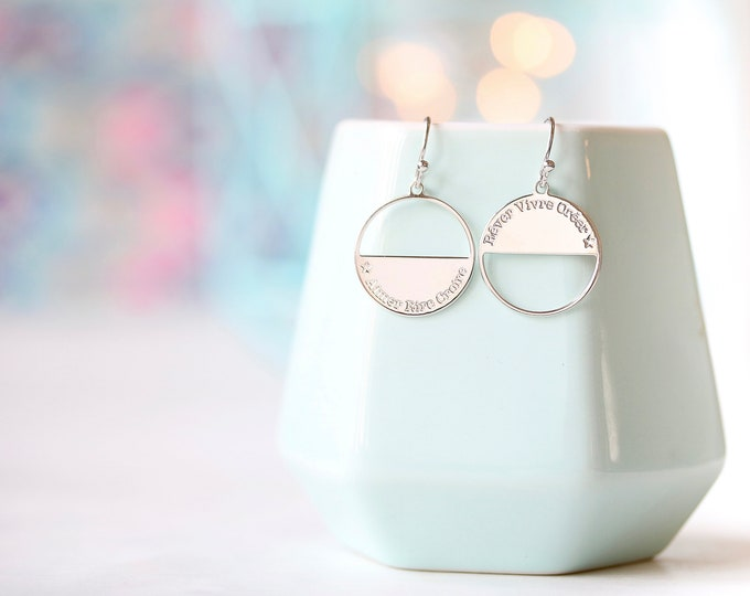 NEW! Pair of earrings MOONLIGHT