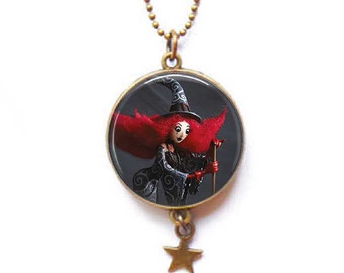 double-sided witch - Youpla & Anatopik necklace