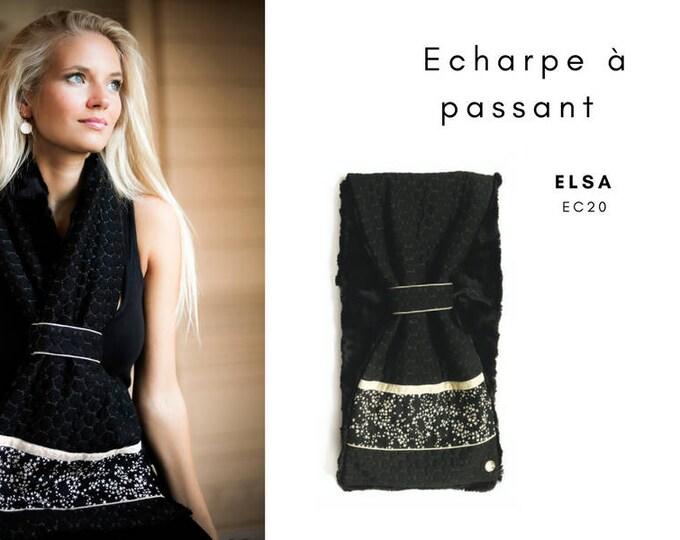 Loop scarf: ELSA EC20 / Valentine's day