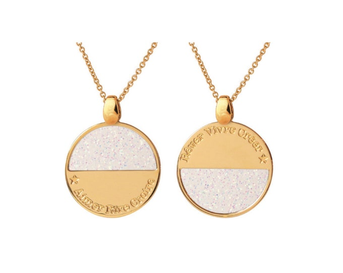 NEW! Glittery MOONLIGHT necklace