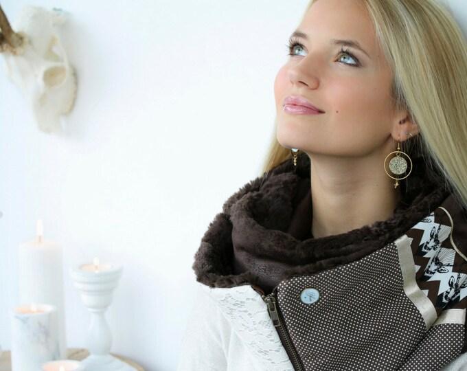 ZIP Youpla scarf: CELESTE ZIP11 / Valentine's day