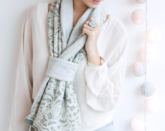 Scarf tie Youpla: mist EC11 (2015) / Valentine's day