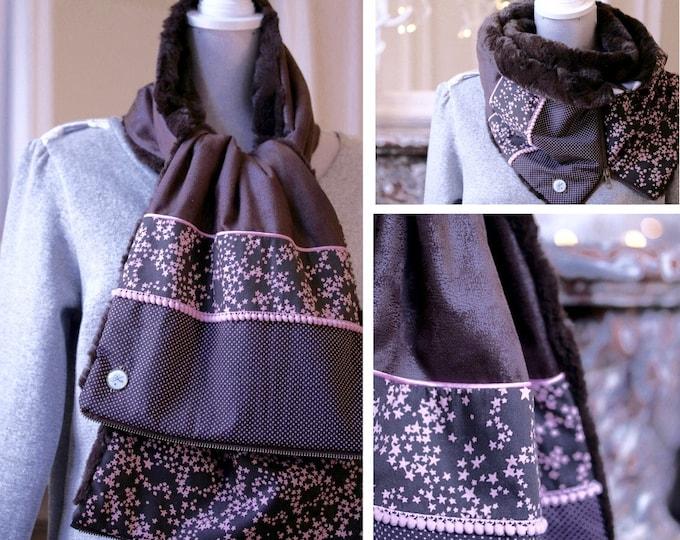 ZIP Youpla scarf: Bamboo BIS ZIP6