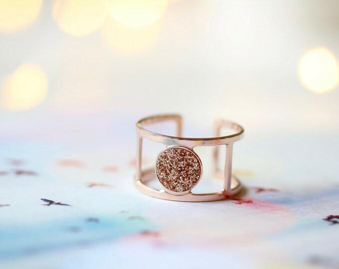 Moonlight ring - glitter
