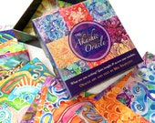 AKASHIC ORACLE DECK ~ Visionary oracle card deck with art and affirmations for conscious living