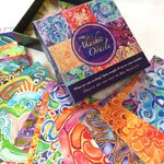 AKASHIC ORACLE DECK ~ Visionary oracle cards with healing art and affirmations for conscious living