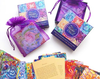 2 ORACLE DECKS ~ Oracle card and tarot deck collectors give 5 stars!!
