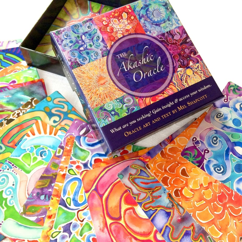 FREE SHIPPING  Oracle deck and tarot card readers give five image 1