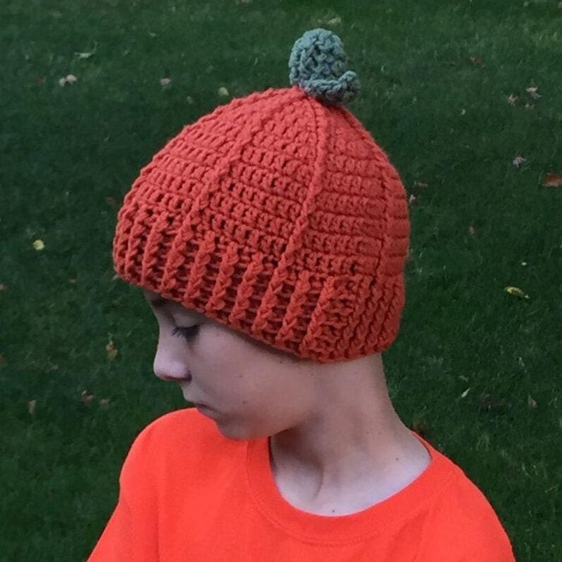 Pumpkin Hat Crochet Pattern image 0