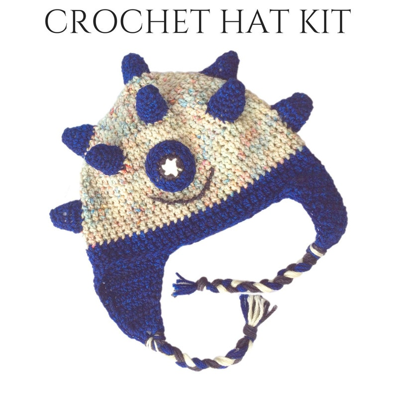 b7b4a08da7ec7 Spike Crochet Hats For Kids - DIY Gifts - Crochet Gifts - DIY Christmas  Gift Ideas - DIY Christmas Gifts - Christmas Gifts For Her