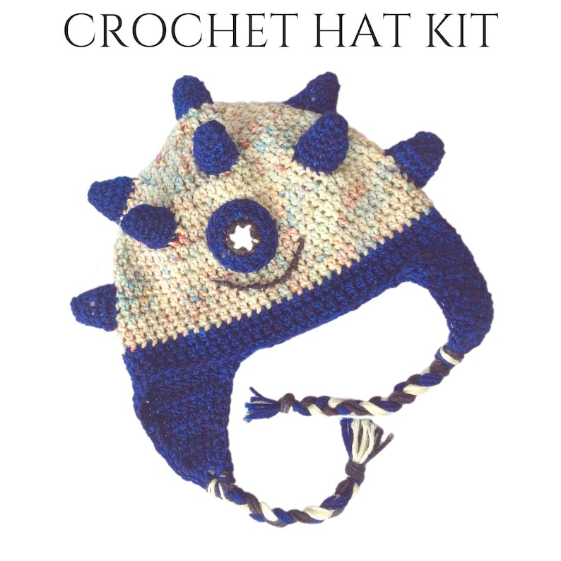 Spike Crochet Hats For Kids  DIY Gifts  Crochet Gifts  DIY image 0