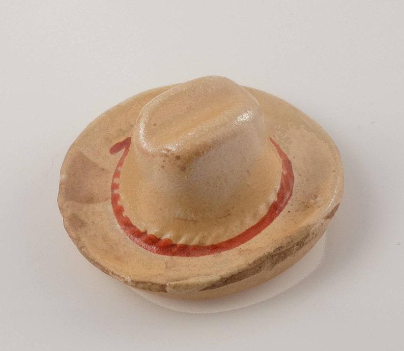 9b44cc07553 Vintage 1950 Ceramic Cowboy Hat made in Japan Antique Novelty