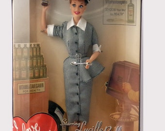 Vintage Barbie as Lucy Does a Commercial