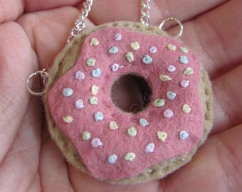 Doughnut Necklace / Gifts for Mum/ Mothers Day
