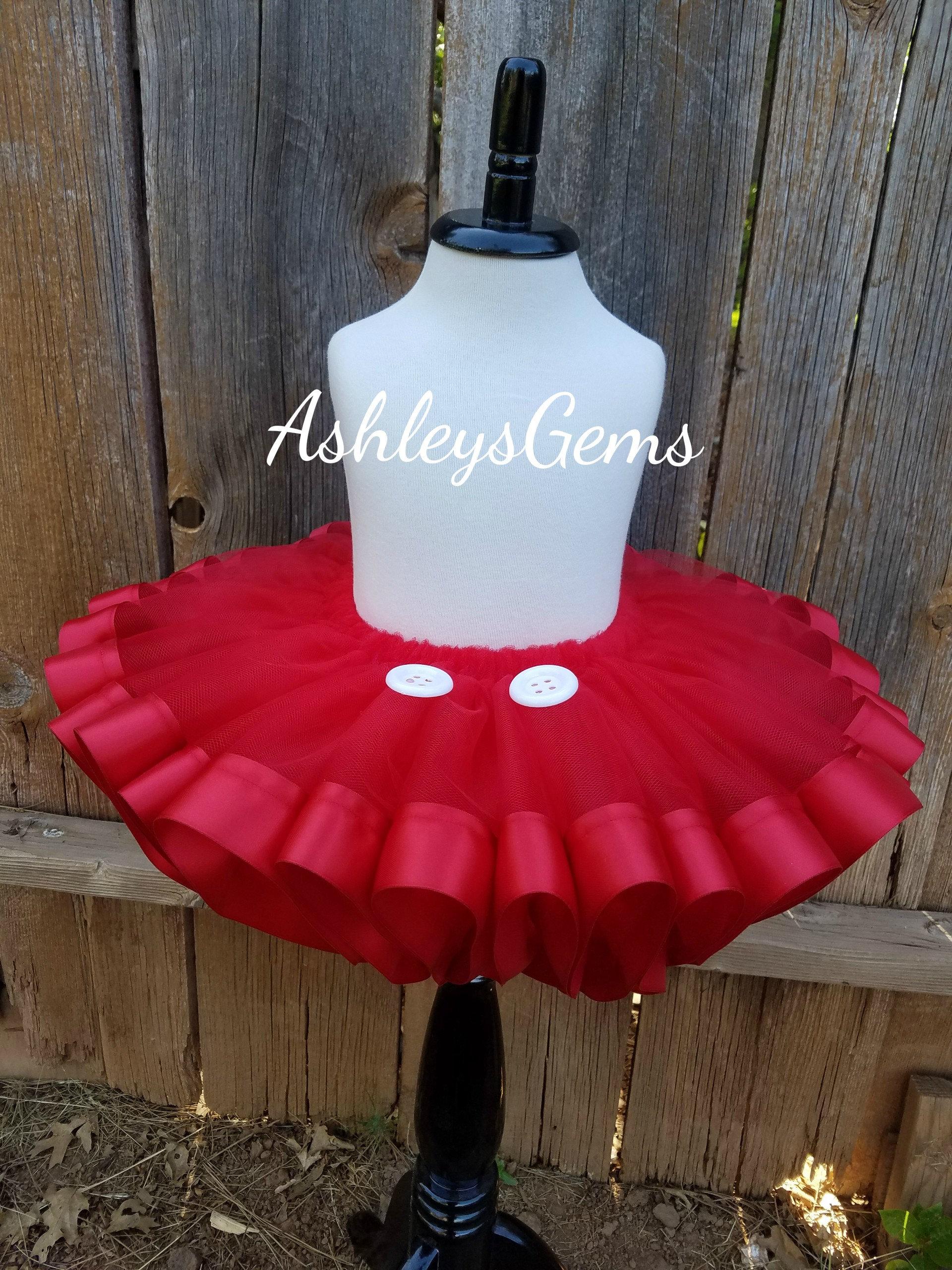 Mickey Mouse Tutu Skirt