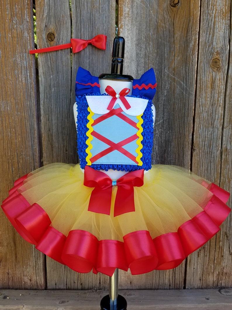 0a93391265c Snow White Birthday Outfit Snow White Dress Snow White Tutu