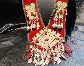 Fabulous Tribal Necklace Afghani Berber Bedouin Vintage