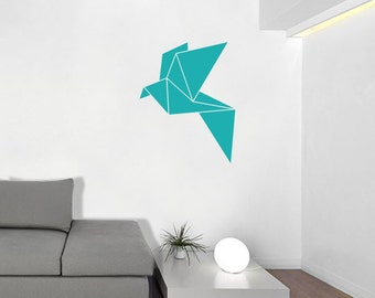 Origami Bird Wall Decal