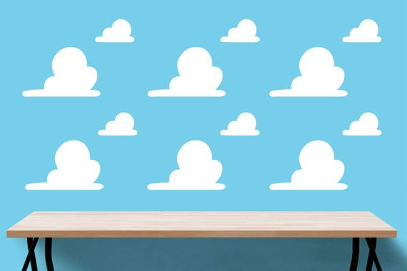 Toy Story Clouds Template Segeka