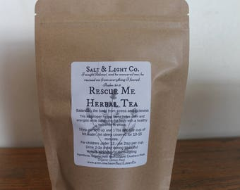 Rescue Me Organic Herbal Tea-Stress-Sickness-Recovery-Allergies
