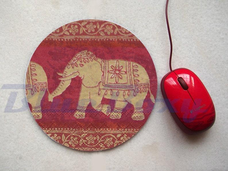 Office Mousepad Fabric Mousepad Computer Mouse Pad Asian Elephant Mousepad