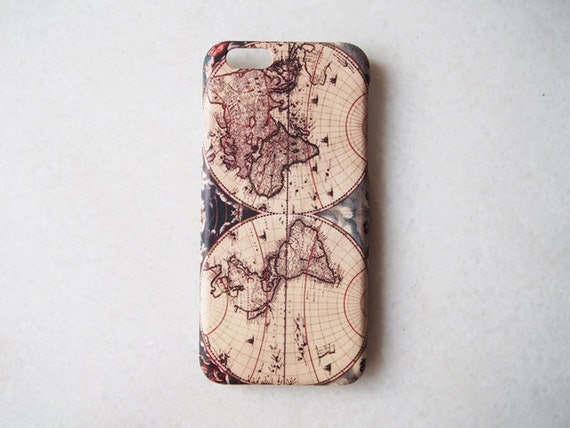 World Map Iphone 6s Case.World Map Iphone 6 Case Iphone 6s Iphone 6 Plus 6s Plus Etsy