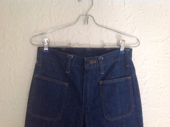 70's Wrangler Bell Bottoms.  26x32