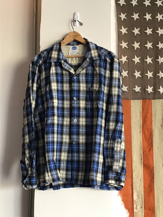 50's Pilgrim shadow plaid Size Large.