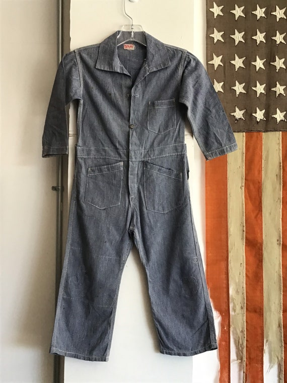 20's-30's Sears Chieftain Overalls.  26x15 - image 2