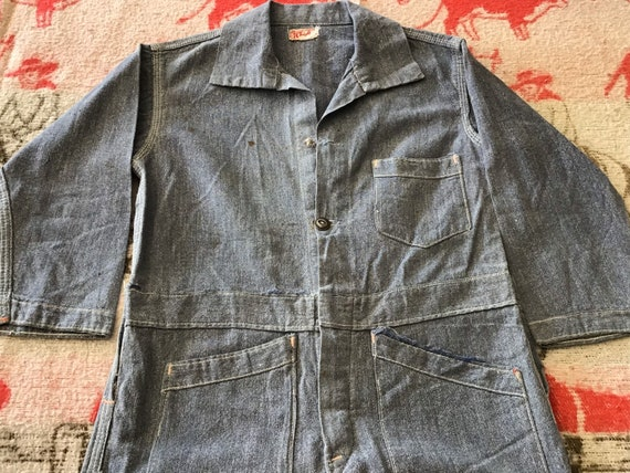 20's-30's Sears Chieftain Overalls.  26x15 - image 4