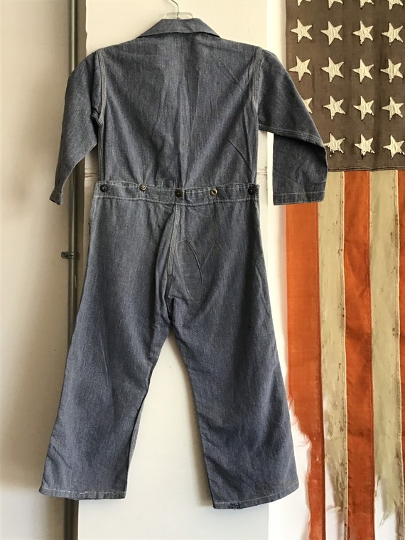 20's-30's Sears Chieftain Overalls.  26x15 - image 3