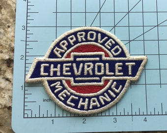 Approved Chevrolet Mechanic patch