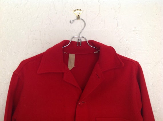 60's Boy Scout Official Jacket  40 inch chest