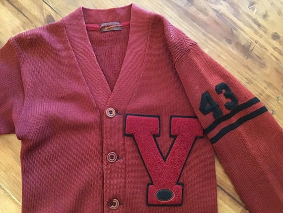 1943 Varsity Letter Sweater.  Size Small