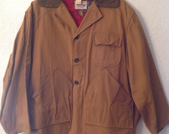 Canvasback hunting jacket size 40