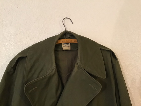 1946 Army Overcoat w/o liner.  XLarge /Long