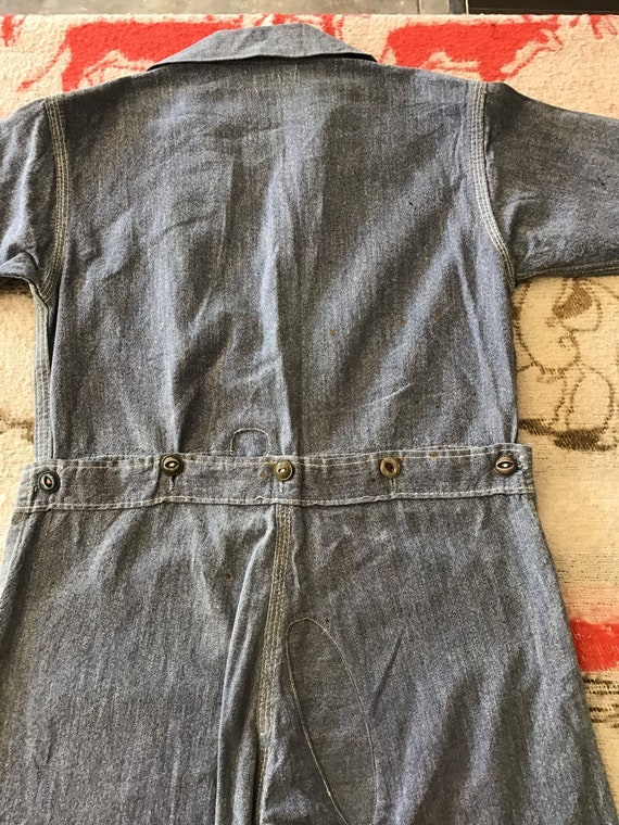 20's-30's Sears Chieftain Overalls.  26x15 - image 6