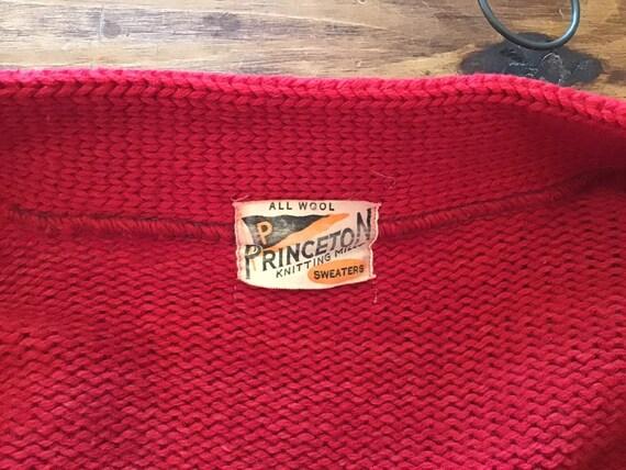 40 Princeron 36 Varsity prix pull.  poitrine de 36 Princeron pouces. d7de8f