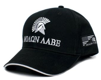 Molon Labe Come And Take It Embroidered Adult One-Size Baseball Hat Cap eae678133c4